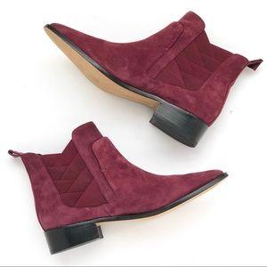 🆕NWOT Rebecca Minkoff Jacy Chelsea Boot Burgundy